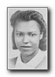 MINNIE GONZALVES: class of 1940, Grant Union High School, Sacramento, CA.