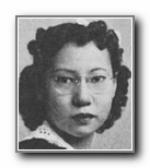 JEANNIE FONG: class of 1941, Grant Union High School, Sacramento, CA.