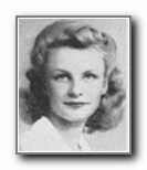 BETTY MAE COURTRIGHT: class of 1943, Grant Union High School, Sacramento, CA.