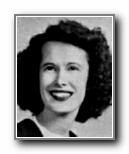 JUNE ELLISON: class of 1944, Grant Union High School, Sacramento, CA.