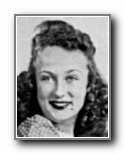 BARBARA ERVIN: class of 1944, Grant Union High School, Sacramento, CA.