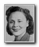 ROSALIE HACKETT: class of 1944, Grant Union High School, Sacramento, CA.