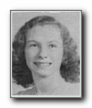 BETTIE LOU HALLAM: class of 1944, Grant Union High School, Sacramento, CA.