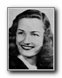 BETTE VANDERFORD: class of 1944, Grant Union High School, Sacramento, CA.