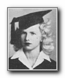 JANE NIEBUHR: class of 1945, Grant Union High School, Sacramento, CA.