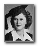 MILDRED WELLS: class of 1945, Grant Union High School, Sacramento, CA.