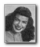 BARBARA NOVOTNY: class of 1946, Grant Union High School, Sacramento, CA.