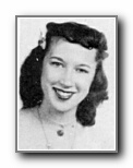 PEGGY SCRUGGS: class of 1947, Grant Union High School, Sacramento, CA.
