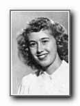 MARY LOU VERLINDEN: class of 1948, Grant Union High School, Sacramento, CA.