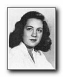 MARY LOU CHILCOTT: class of 1948, Grant Union High School, Sacramento, CA.