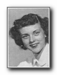 BONNIE CLEVELAND: class of 1948, Grant Union High School, Sacramento, CA.