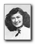 GRACE NAKASHIMA: class of 1948, Grant Union High School, Sacramento, CA.