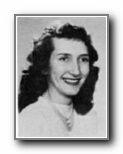 BETTY DANEK: class of 1950, Grant Union High School, Sacramento, CA.