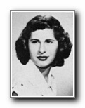 LORETTA STRECKER: class of 1950, Grant Union High School, Sacramento, CA.