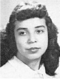ANITA CHABOYA: class of 1951, Grant Union High School, Sacramento, CA.
