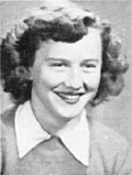 JANET CHAPMAN: class of 1951, Grant Union High School, Sacramento, CA.