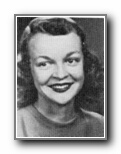 MARJORIE BOWERS: class of 1952, Grant Union High School, Sacramento, CA.