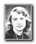 MARILYN HALLSTROM: class of 1953, Grant Union High School, Sacramento, CA.