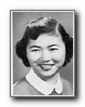 AGNES HIRONAKA: class of 1953, Grant Union High School, Sacramento, CA.