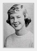 PEGGY POPPETT: class of 1954, Grant Union High School, Sacramento, CA.