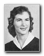 ELIZABETH WEBER: class of 1958, Grant Union High School, Sacramento, CA.