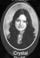 Crystal Cedillo: class of 2007, Grant Union High School, Sacramento, CA.
