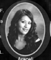 Araceli Servin: class of 2007, Grant Union High School, Sacramento, CA.