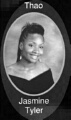 Jasmine Tyler: class of 2007, Grant Union High School, Sacramento, CA.