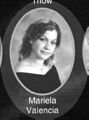 Mariela Valencia: class of 2007, Grant Union High School, Sacramento, CA.