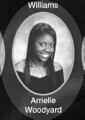 Arrielle Woodyard: class of 2007, Grant Union High School, Sacramento, CA.