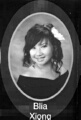 Blia Xiong: class of 2007, Grant Union High School, Sacramento, CA.
