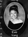 Evie Yang: class of 2007, Grant Union High School, Sacramento, CA.