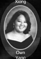Own Yang: class of 2007, Grant Union High School, Sacramento, CA.