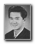 ROBERT WONG: class of 1957, Norte Del Rio High School, Sacramento, CA.