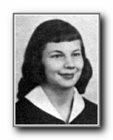 Marcy Sosinski: class of 1958, Norte Del Rio High School, Sacramento, CA.
