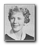 Carolyn Hancock: class of 1959, Norte Del Rio High School, Sacramento, CA.