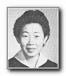 Susie Wong: class of 1959, Norte Del Rio High School, Sacramento, CA.