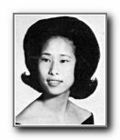 Glenda Chan: class of 1965, Norte Del Rio High School, Sacramento, CA.