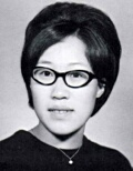 Anna Gong: class of 1970, Norte Del Rio High School, Sacramento, CA.